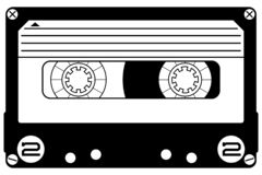 Free Cassette Mixtape Hand Drawn Crafteroks Svg Free, Free Svg File, Eps, Dxf, Vector, Logo, Silhouette, Icon, Instant Download, Digita Royalty Free Stock Images - 146467529