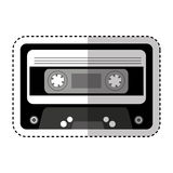 Cassette music old fashion Royalty Free Stock Images