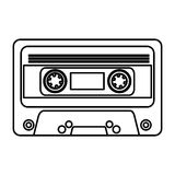 Cassette music old fashion Royalty Free Stock Photos