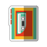 Cassette music player old fashion Royalty Free Stock Photos