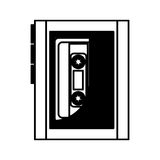 Cassette music player old fashion Royalty Free Stock Photo