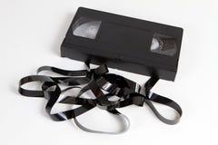 Cassette obsoleto de la cinta video Imagenes de archivo