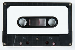Cassette. Old cassette tape on white background Stock Image