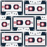 Cassette Pattern Stock Photos