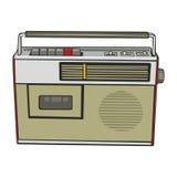 Cassette player Stock Image