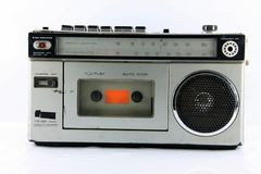 Cassette player Royalty Free Stock Photography