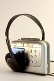 Cassette Player. Headphones Royalty Free Stock Images