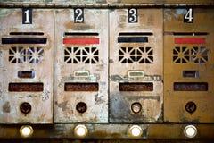 Cassette postali fotografie stock libere da diritti