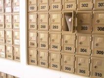 Cassette postali Fotografia Stock