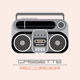 Cassette Recorder icon Stock Image