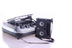 Cassette rewinder Stock Image