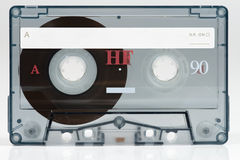 Cassette sonore photographie stock