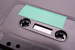 Cassette sonore avec l'espace pour l'enregistrement de texte Cassette sans description photo libre de droits
