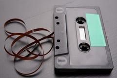 Cassette sonore avec l'espace pour l'enregistrement de texte Cassette sans description photos libres de droits