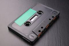 Cassette sonore avec l'espace pour l'enregistrement de texte Cassette sans description image libre de droits