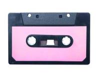 Cassette sonore de cru d'isolement. photographie stock libre de droits