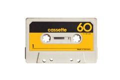 Cassette sonore de vintage photographie stock libre de droits
