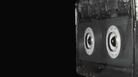 Cassette sonore jouant jusqu'aux portées l'extrémité banque de vidéos