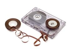 Cassette spool Royalty Free Stock Photography