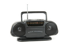 Cassette stereo radio Stock Photography