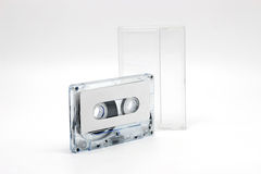 Cassette tabe for music reccord Stock Image