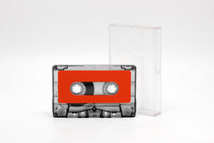 Cassette tabe for music reccord Royalty Free Stock Images