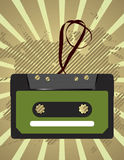 Cassette tape. Vector illustration of cassette tape Stock Image