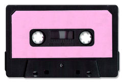 Cassette Tape. Gone but not forgotton classic including clipping path stock image