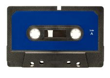 Cassette Tape. Photo on white background Royalty Free Stock Images