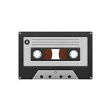 Cassette tape compact for play music and recorder to audio in 19 Stock Photography