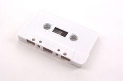 Cassette tape - full view Stock Photography