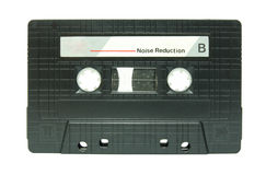 Cassette tape isolated Royalty Free Stock Photo