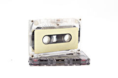 Cassette tape isolated Royalty Free Stock Photos