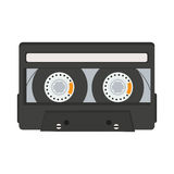 Cassette tape isolated on white background Stock Image