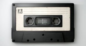 Cassette Tape And Musical Notes Concept Royalty Free Stock Images