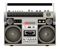 The cassette tape recorder Royalty Free Stock Images