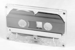 Cassette Tape. The Retro Cassette tape for record and playback music stock photos