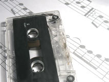 A cassette tape Stock Photography