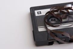 cassette tape unroll στοκ εικόνες