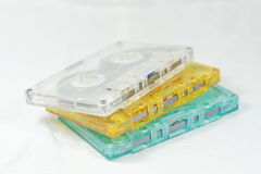 Cassette Tape. The Vintage Old Style Audio Cassette Tape stock image