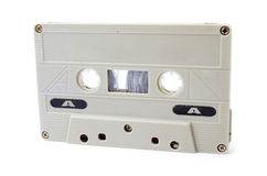 Cassette tape on white background Royalty Free Stock Photo