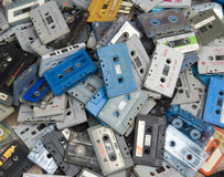 Cassette Tapes Royalty Free Stock Photos