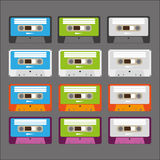 Cassette tapes Stock Image