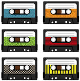 Cassette tapes Royalty Free Stock Image