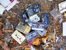 Cassette tapes Royalty Free Stock Images