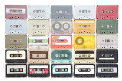 Cassette tapes. stock images