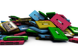Cassette taps Royalty Free Stock Image