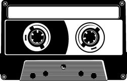 Cassette vector Royalty Free Stock Photography