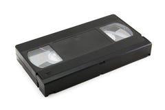 Cassette vidéo (d'isolement sur le blanc) Image stock