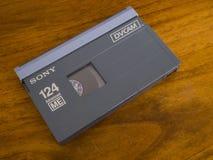 Cassette vid?o de DVCAM photo libre de droits